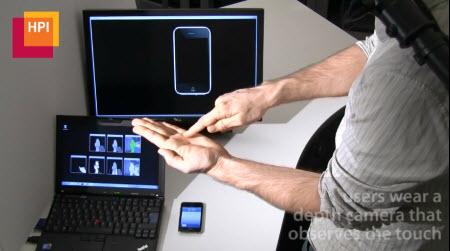 Görünmez iPhone prototipi böyle çalışıyor!