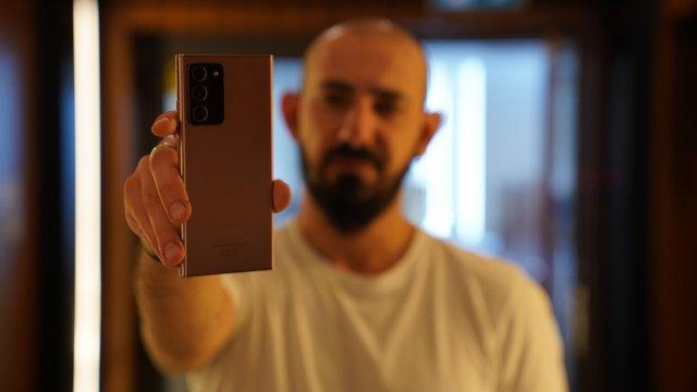Samsung Galaxy Note 20 Ultra Görüntü İnceleme 1