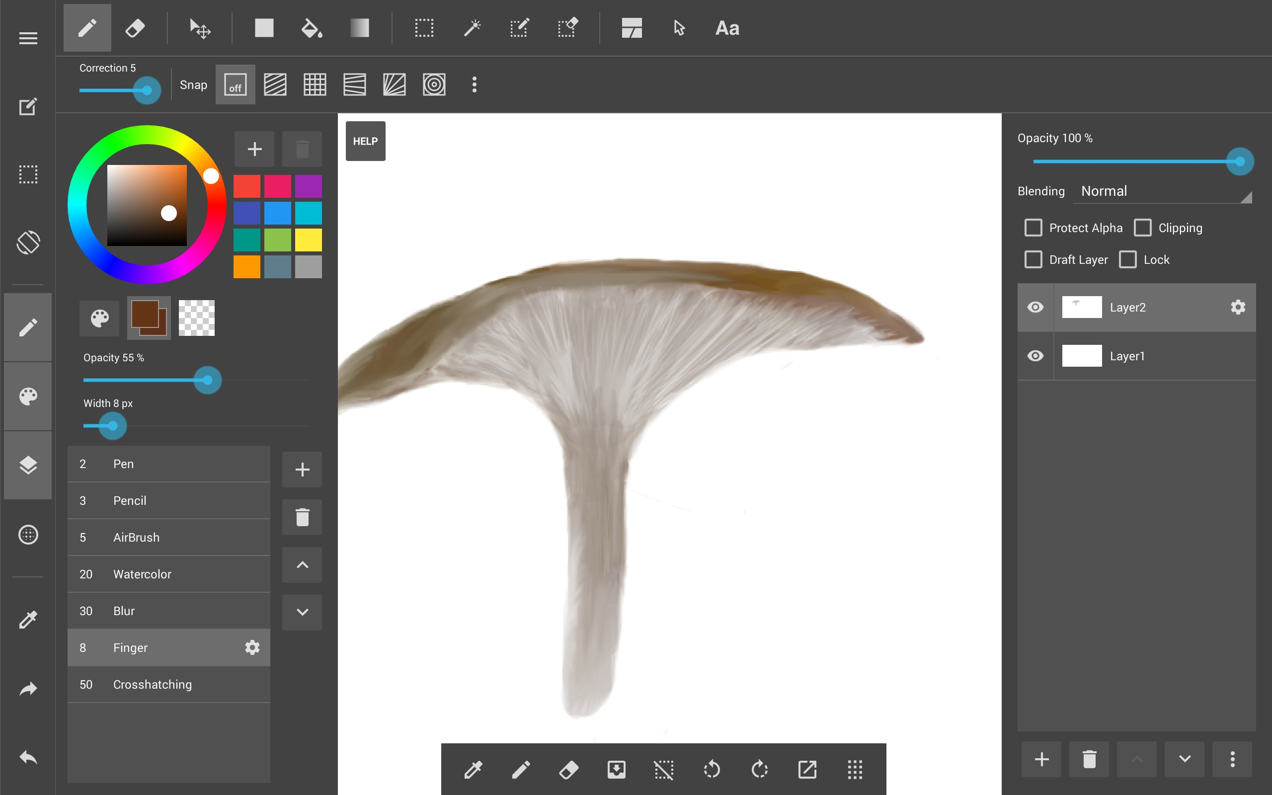 medibang paint apk - android app - download - chip