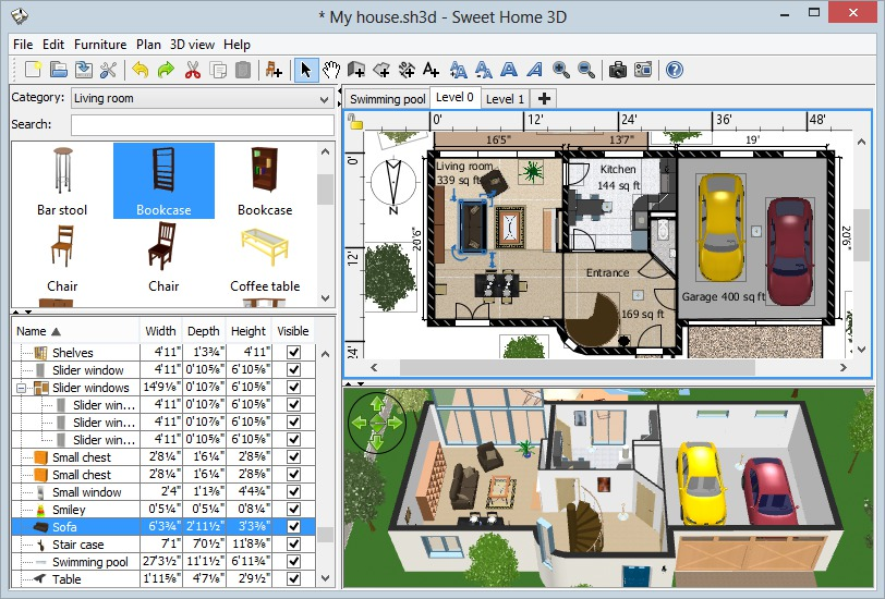 This page proposes 1492 zip files containing 3d models. Sweet Home 3d Download Kostenlos Chip