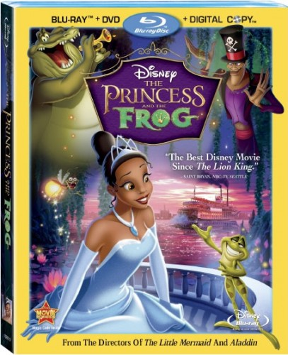 Save $10 off the Princess & the Frog Blu-Ray/DVD Combo Pack 2
