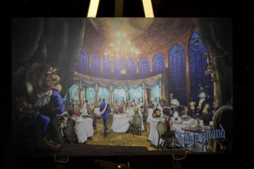 New Disneyworld Fantasyland Concept Art Photos 1