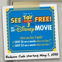 Energizer batteries offers free tickets to see Pixar's Toy