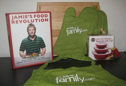 Disney Family.com & Jamie Oliver *Eating Healthly Giveaway* 1