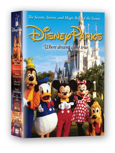 """""""Disney Parks"""" DVD Collection Giveaway 1"""