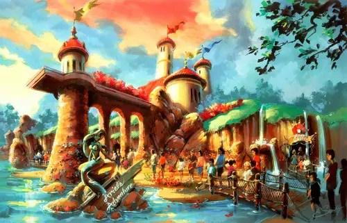 Disney pulls $15 million permit for Little Mermaid ride 1