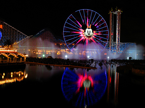 Fanciful Fountains Take Center Stage in Spectacular 'World of Color' Show at Disney California Adventure Park 1
