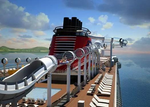Disney Dream Sets Sail on Maiden Voyage Jan 26th 2011 1