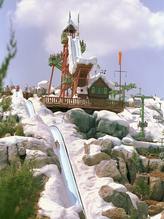 Mount gushmore is separated into three slopes; Fun Facts About Disney S Blizzard Beach Chip And Company