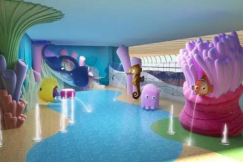Building the Disney Dream: Nemo's Reef 1