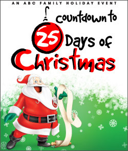 Video: ABC Family Countdown to 25 Days of Christmas 1