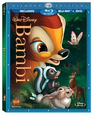Disney Classic Coming to Bluray March 1st 2011 - Bambi Diamond Edition 1