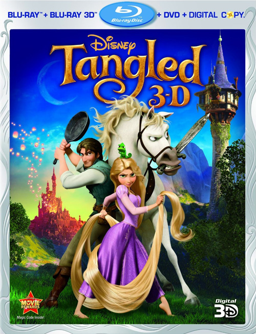 Preorder Tangled on Disney 3D/Bluray/DVD Combo Pack 1
