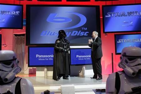 Darth Vader Announces September Star Wars Blu-ray Releases at CES 2011 1