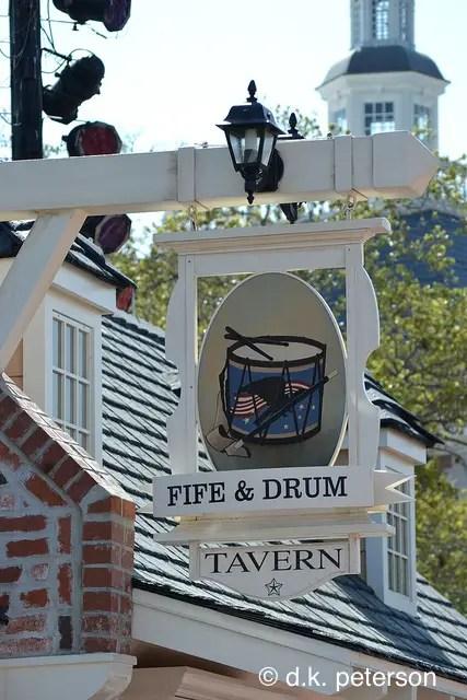 Fife & Drum Tavern at American Adventure, Epcot