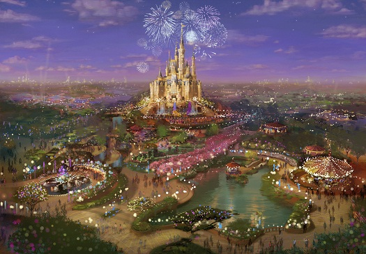 Shanghai Disneyland - First Disney theme park to be built in mainland China 3