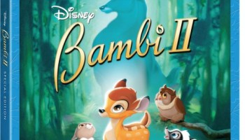 BAMBI 2 on Blu-ray & DVD Combo Pack August 23rd!