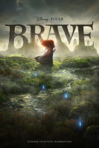 Disney Pixar's 'Brave' Gets New Movie Poster 1