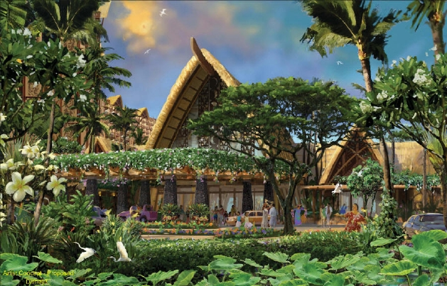 New Disney Hawaii Vacation Club Resort