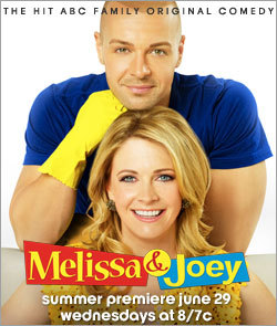 """ABC Family's Hit Comedy """"Melissa & Joey"""" Returns With All-New Episodes Premiering Wednesday, June 29 At 8:00 ET/PT 1"""