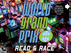 Cars 2 World Grand Prix Read and Race App! 1