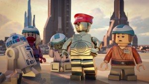"""LEGO Star Wars: The Padawan Menace"" Special on Cartoon Network 1"
