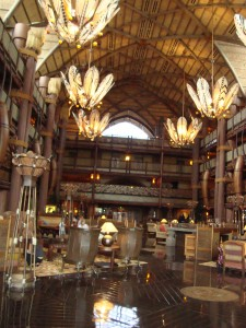 Animal Kingdom Lodge-Jambo House lobby