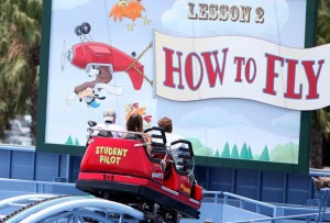 Goofy's Sky School Complete Transformation of Paradise Pier 1
