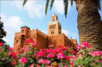 Around The 'Disney' World - Morocco Pavilion 1