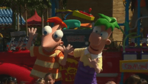 Phineas and Ferb are Rockin' and Rollin' at Disney California Adventure Park 1