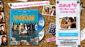 Save $5 on Disney Prom Blu-ray Combo Pack! 1