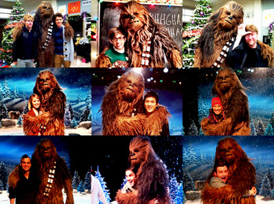 Glee's Star Wars Holiday Special Spoof Starring Chewbacca 1