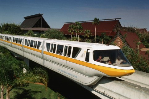 Yellow Monorail