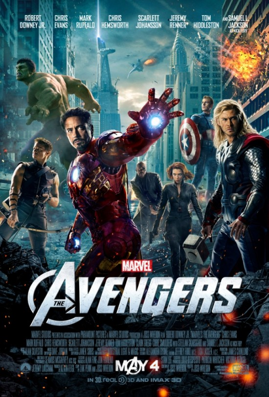 New Poster and Trailer For 'The Avengers' Lands 2