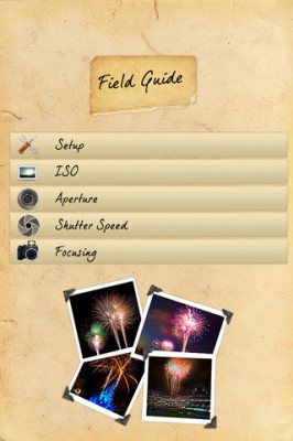 Disney World App Review - Fireworks Photography Field Guide 2