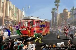 Exciting, New Entertainment Fuels Cars Land, Buena Vista Street at Disney California Adventure Park 1
