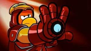 Marvel Super Heroes Assemble on Disney's Club Penguin 2