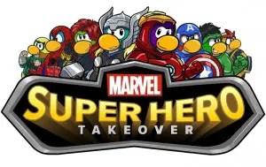 Play as Marvel's The Avengers in Disney Club Penguin 1