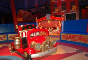 New Interactive Queue in the Big Top Tent at Dumbo The Flying Elephant 2