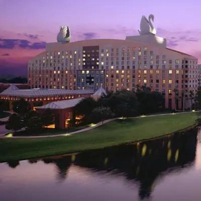 Disney's Swan