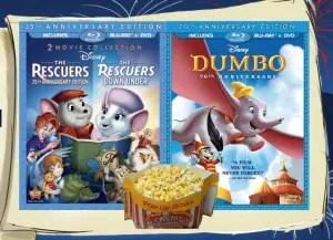 Disney Double Blu-ray Giveaway 1