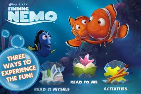 Finding Nemo Storybook app