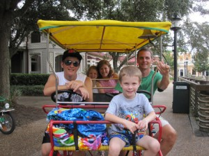 Take a day off - Try a Bike Rental at Disney World 1