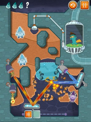 """20 New Laser-Reflecting Levels for Hit Mobile Puzzler """"Where's My Perry?"""" 1"""
