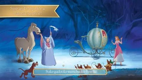 Cinderella Storybook app
