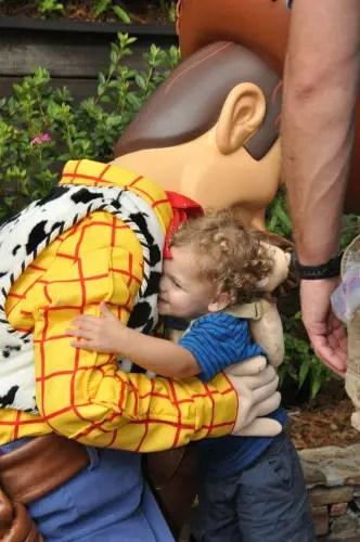 Character Greeting Woody