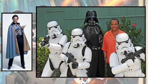Billy Dee Willams at Stars Weekends