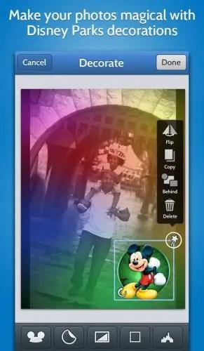 Disney Photo App