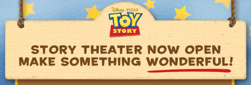 toy story theater contest