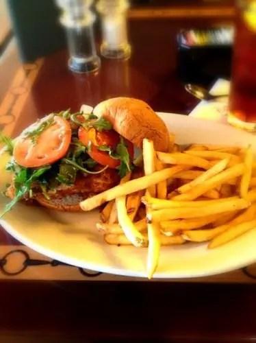 Turf Club Lunch Menu